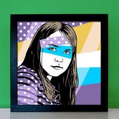 Ob knallig bunt, retro oder klassisch Pop Art – hier kannst Du Dein Foto zum ausgefallenen Kunstwerk machen lassen. Exklusiv für Dich gestaltet nach Deinen Wünschen. Damit landest Du einen garantierten Treffer als Geschenk zu jeder Party, nicht nur zur Wohnungseinweihung oder Umzugsfeier! Pop Art Portraits, Looking Forward To Seeing You, Party Poster, Ms Gs, Pigment Ink, Retro, Original Image, Bunt, Great Gifts