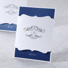 Laser Cut Swing Gate with Jewel by B Wedding Invitations