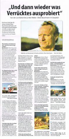 Oliver Buschmann im Interview mit Steffen Korthals (Stadt Anzeiger, 15.01.2014)