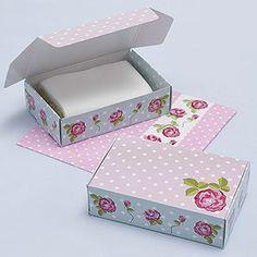 Vintage Rose Cake Boxes - 10 Pack