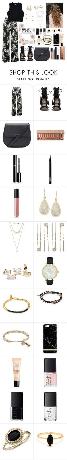 """Untitled #308"" by katymccord77 ❤ liked on Polyvore featuring M&Co, Zimmermann, Kate Spade, Urban Decay, Chanel, NARS Cosmetics, Bare Escentuals, Eddie Borgo, Forever 21 and Accessorize"