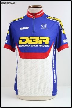 MAILLOT CYCLISME EQUIPE DIAMOND BACK RACING rfFBB125