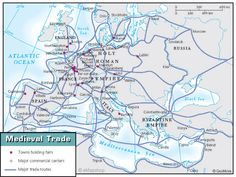 Black Death Trade Routes | Friday, November 14, 2014