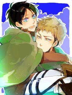 Eren and Jean.