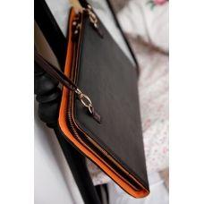 iPad folio shoulder bag with strap $34