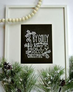 LIttle Baby Garvin Chalkboard Prints!