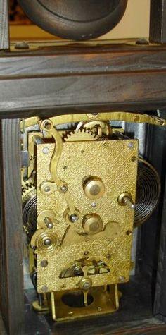 "Wm.L. Gilbert Clock Co., Winsted Conn., ""Occidental"" walnut 8-day time ..."