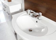 Umywalka ceramiczna Bahama 65. Ceramic washbasin Bahama 65. #elita #meble #lazienka #amigo #bathroom #furniture