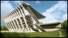Portugal, Building Structure, Outdoor Furniture, Outdoor Decor, Architecture, Portuguese, Hammock, Concrete, Design