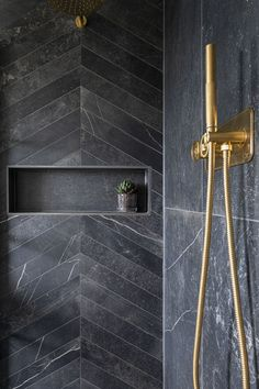 Make a statement with our Fusion Black Matt Porcelain Tile, a beautiful tile that's modern & traditional. Order a free sample of this black porcelain tile. Dark Bathrooms, Master Bathrooms, Basement Bathroom, Beautiful Bathrooms, Small Bathroom, Master Bedroom, Bathroom Goals, Bathroom Ideas, Bathroom Inspiration