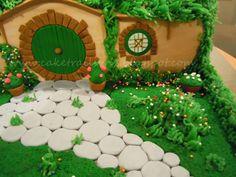 hobbit cake cake ideas pinterest hobbit kuchen herr der ringe und geburtstagsfeier ideen. Black Bedroom Furniture Sets. Home Design Ideas
