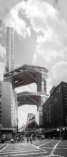 Form of Public Control in Manhattan by Jae Kim, CoDeAU
