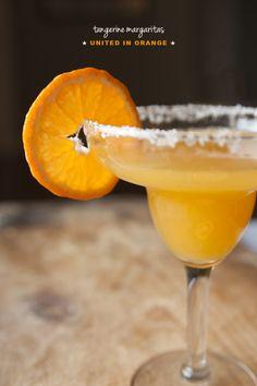 Tangerine Margaritas