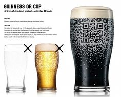 Beer-Based QR Code Only Works With Guinness, Informs Everyone That You Are Drinking Guinness