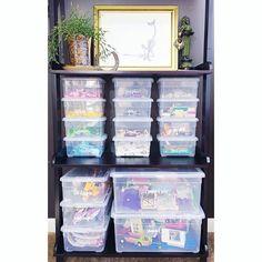 WEBSTA @organized_simplicity A simple yet beautiful way to contain legos. Happy Friday y'all!