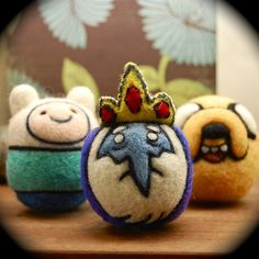 Adventure Time Wool Toys | Flickr - Photo Sharing!
