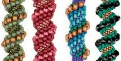 Free E-Book Download: Spiral Peyote from Beading Daily.  #Seed #Bead #Tutorials