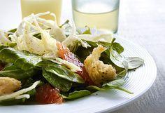Shaved Fennel, Grapefruit and Arugula Salad with Avocado Oil Vinaigrette by oprah #Salad #Fennel #Grapefruit