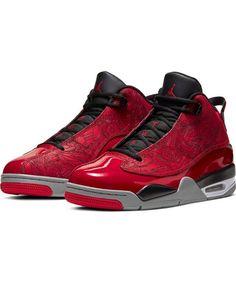 "Jordan Dub Zero ""Gym Red/Black/Particle Grey"" Men's Shoe - Hibbett | City Gear Zero Shoes, Jordan Dub Zero, Air Max Sneakers, Shoes Sneakers, Mens Grey Shoes, Air Jordans, Shoes Stand, Nike Air Max, Elegant"