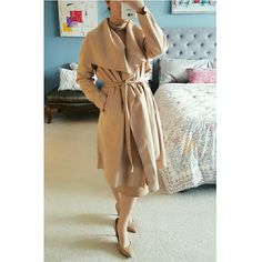 """5-Star Rated  Premium Trench Coat Back in stock- Classic and sexy trench coat in timeless camel color. Long sleeves with waist tie and side front pockets. Big lapels add a trendy flare and warmth to your outfit. Wool blend material. Approx 39"""" shoulder to hem length. Brand new. Actual photos. Boutique Jackets & Coats Trench Coats"""