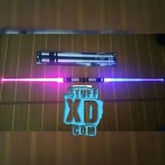 Retractable Double-Bladed Lightsaber (Saberstaff) 2-piece pack Lightsaber, Star Wars, Packing, Neon Signs, Cool Stuff, Stars, Bag Packaging, Sterne, Starwars