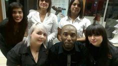 Rags hair and beauty staff!