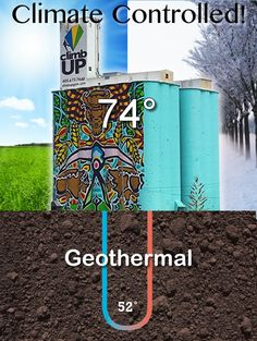 Big News - Silos to be Climate Controlled with Geothermal