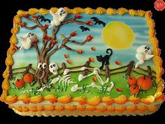 1000+ images about Halloween sheet cakes on Pinterest ...
