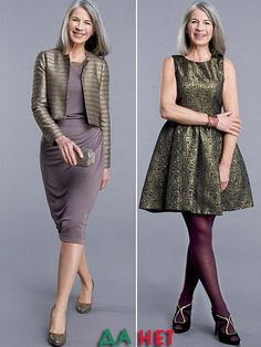 Choc Outfits For a 60 Year Old Women - Yahoo Image Search Results Fashion For Women Over 40, Curvy Women Fashion, 60 Year Old Woman, Casual Dresses, Fashion Dresses, Women's Fashion, Casual Clothes, Luxury Dress, The Dress
