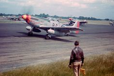 P-51D Munstang LEISTON AIRFIELD 1945