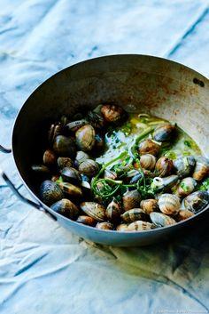 Palourdes sautées aux herbes fraîches : Une recette simple et rapide à préparer... Un vrai régal !