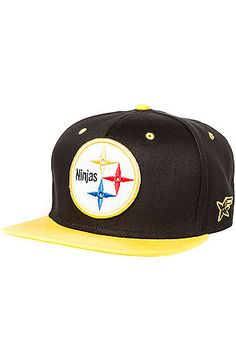 The Ninjasburg Snapback in Black and Yellow by RockSmith