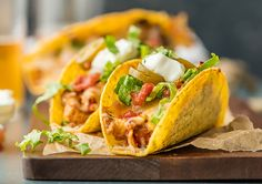 <p> These Easy Oven Baked Spicy Chicken Tacos is easy to make, perfect for a crowd, and sure to please. It doesn't get easier or more delicious for family Mexican Night! Loaded with all your favorite toppings, or delicious on their own, you can't go wrong with melty cheesey, amazing toppings, and of course, lots of spice. We love to make these tacos for family get togethers, and even just simple dinners at home. They always make a weekly appearance on our table! </p> <p>See full p...