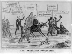 1 print : lithograph on wove paper ; William Lloyd Garrison, Election Cartoons, Henry Clay, Good Old Times