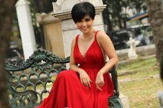 Gaun Merah Yuni Shara Bikin Bergairah !   wisbenbae