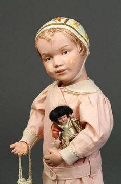 Bonnet head Schoenhut doll