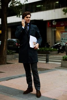 On the Street….Javier of Just One, Madrid « The Sartorialist