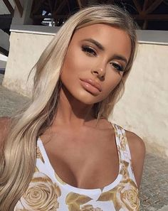 Brown Wigs Lace Hair Blonde Wig Updo Cornrows Styles 2019 Layer Cut For Girls Freddie Mercury Wig Cool Braids For Long Hair Black To Blonde Hair Blonde Bob Wig, Beauté Blonde, Blonde Lace Front Wigs, Dyed Blonde Hair, Brown Eyes Blonde Hair, Blonde Hair Makeup, Hair Dye, Girls With Blonde Hair, Baby Blonde Hair