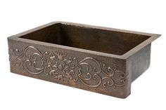 #myRustica #Copper #Kitchen #Sink with apron front is a real deal. Convert your #house into a #unique place by installting #handmade #classic plumbing fixtures #colonial #style. Buy your #RusticaHouse #sink in fired #natural #color or treated with patina of choice.