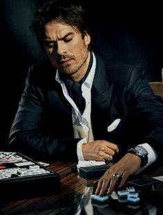 Ian Somerhalder for JStyle China 2017