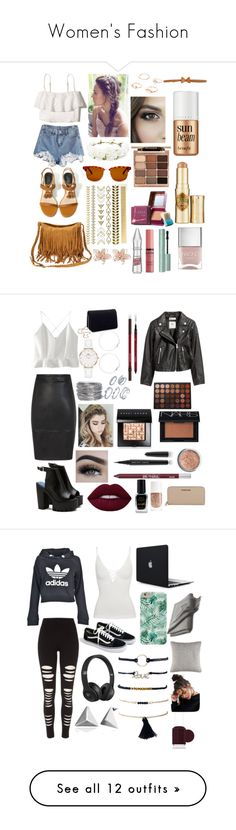 """Women's Fashion"" by ellsy205 ❤ liked on Polyvore featuring Hollister Co., Forever 21, Cole Haan, Printed Village, NAKAMOL, RED Valentino, Benefit, Stila, NYX and Nails Inc."