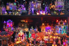 Christmas Village Display Tips | Halloween Village - Dept 56 vs. Lemax - Page 4