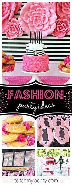 Check out this fabulous Fashion Show birthday party! The birthday cake is stunni., checklist teens Check out this fabulous Fashion Show birthday party! The birthday cake is stunni. Diva Birthday Parties, Birthday Party Checklist, Birthday Cakes For Teens, Birthday Fashion, Girl Birthday, Paris Birthday, Fashion Show Party, Pamper Party, Engagement Party Decorations