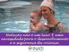 Natação não é um luxo. É uma necessidade para o desenvolvimento e a segurança da criança.