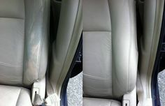 "Leather car seat, from ""tired"" to new thanks to WaterfloW and JomeX!!"