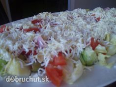 Pasta Salad, Healthy Snacks, Cabbage, Grains, Recipies, Lunch, Vegetables, Fit, Salads