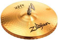 Zildjian ZHT 13-Inch Master Sound Hi-Hat Cymbals Pair by Zildjian. $154.95. Traditional Finish