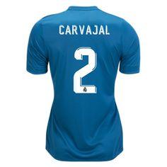 dc10418de17 17 18 Dani Carvajal Jersey Number 2 Third Women s Real Madrid Team Real  Madrid Soccer