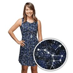 Glow-in-the-Dark Constellation Dress - Exclusive | ThinkGeek