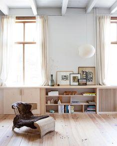 Living Tv, Interior Styling, Interior Design, Living Room Decor Inspiration, Built In Furniture, Room Decor Bedroom, Interior Architecture, Sweet Home, House Design